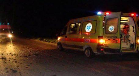 Βόλος: Τροχαίο ατύχημα στον περιφερειακό δρόμο – Δύο τραυματίες