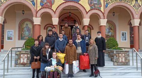 Εκκλησιασμός και φιλανθρωπική προσφορά των μαθητών του 13ου Λυκείου Λάρισας