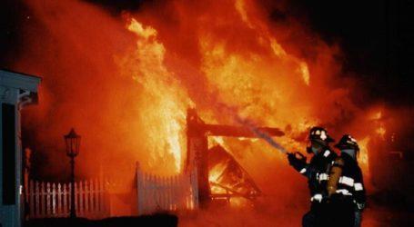 Πήλιο: Κάηκε ολοσχερώς αρχοντικό