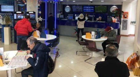 «Φρενίτιδα» στον Βόλο λόγω του τζακ ποτ στο Τζόκερ – Οι Βολιώτες διεκδικούν δυναμικά τα 6,5 εκατομμύρια