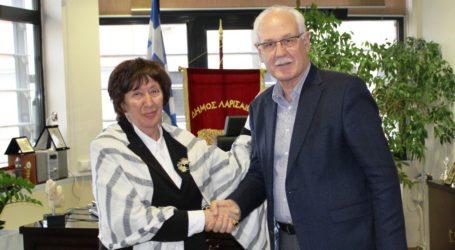 Ολοκληρώθηκε η θητεία της κ. Β. Μόσιαλουστη θέση της Γενικής Γραμματέως του Δήμου Λαρισαίων