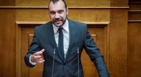 Π. Ηλιόπουλος για την εισαγγελική πρόταση: Κατερρίφθη η σκευωρία