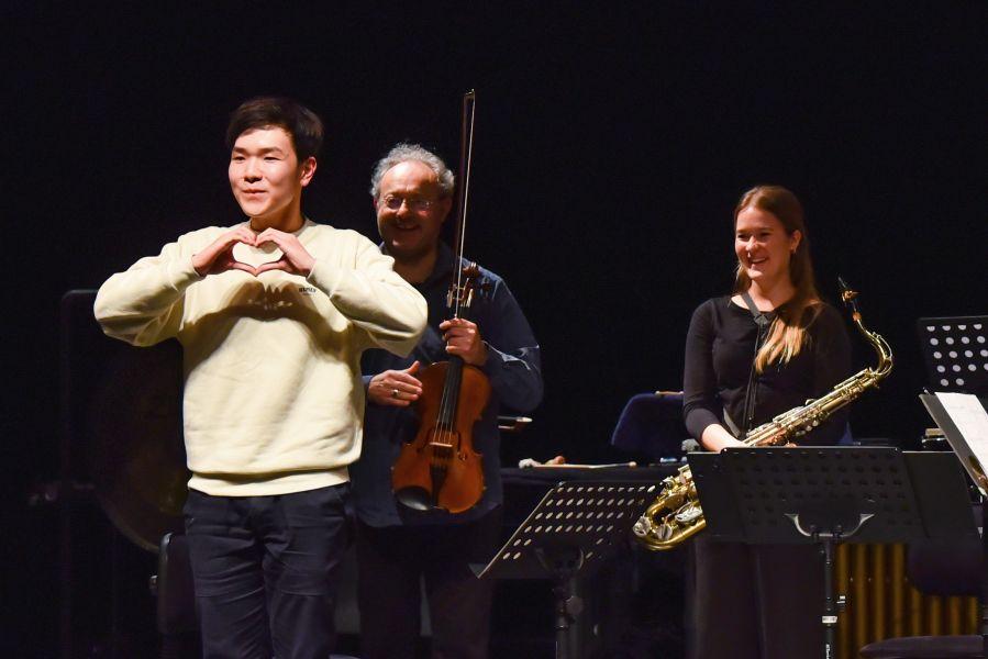 """Έριξε αυλαία το 2οΔιεθνές Φεστιβάλ Σύγχρονης Μουσικής Σύνθεσης """"outHEAR New Music Week"""" στη Λάρισα (φωτο)"""