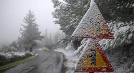 Αλατιέρες σε εγρήγορση στα ορεινά του νομού Λάρισας – Ο παγετός δημιουργεί προβλήματα