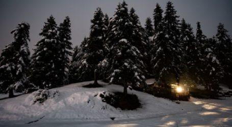 Ψάχνουν αυτόν που προκάλεσε ζημιές στο Χιονοδρομικό Περτουλίου – Ο δράστης καταγράφτηκε από κάμερες (βίντεο)