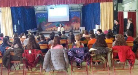 Ομιλίες σε σχολεία του δήμου Τεμπών για την Παγκόσμια Ημέρα Παιδιού