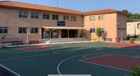 Νέες σύγχρονες σχολικές αυλές δημιούργησε η Περιφέρεια Θεσσαλίας σε σχολεία του Δήμου Τεμπών