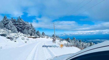 Όμορφες εικόνες από την χιονισμένη Όθρυ [εικόνες]