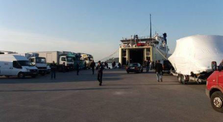 Δεμέμα στο λιμάνι του Βόλου τα πλοία