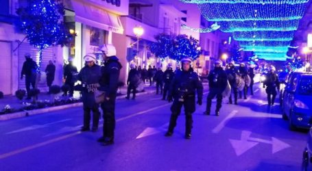Βόλος: Δρακόντεια μέτρα από την αστυνομία για την επέτειο Γρηγορόπουλου – Την ίδια ώρα η τελετή φωταγώγησης της πόλης