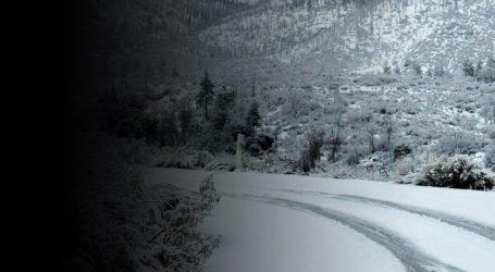 Ώρα 21.30: Στους -7 το θερμόμετρο στο Πήλιο – Αναμένεται νέα χιονόπτωση
