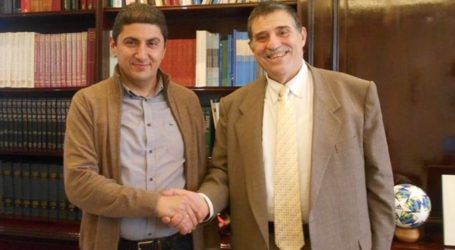 Συνάντηση Λευτ. Αυγενάκη με τον πρόεδρο του Ινστιτούτου Ανάπτυξης Πηλίου