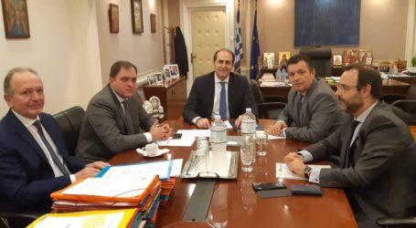 Στο Υπουργείο Οικονομικών τρεις βουλευτές Μαγνησίας – Συνάντηση με Βεσυρόπουλο