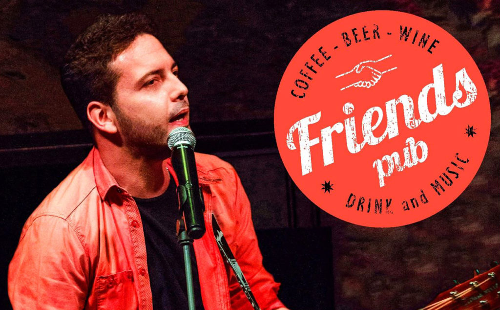 Γιώργος Γελαράκης Live Friends pub 3 Ιανουαρίου