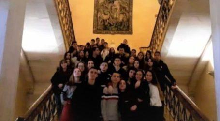 Τη βουλή επισκέφθηκαν μαθητές του 1ου ΕΠΑΛ Τυρνάβου