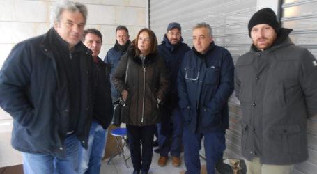 Bόλος: Κλιμάκιο του ΣΥΡΙΖΑ με επικεφαλής την Παπανάτσιου στους εργαζόμενους της COSMOTE