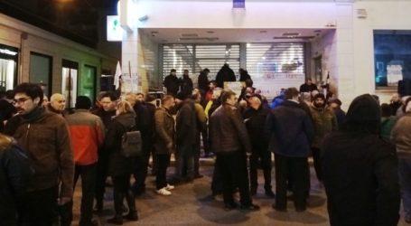 Βόλος: Πήγαν να συμπαρασταθούν στους απεργούς του ΟΤΕ