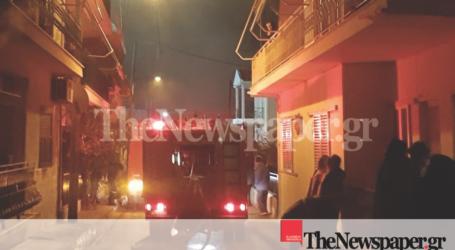 Βόλος: Τραυματίστηκε μία πυροσβέστρια στη φωτιά της Ν. Ιωνίας [εικόνες]