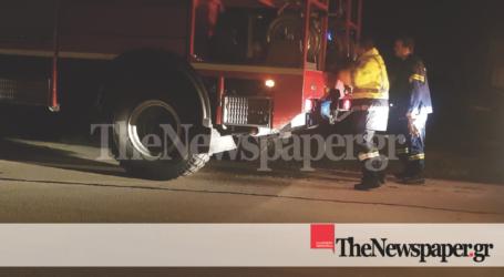 ΤΩΡΑ: Φωτιά στο Σέσκλο [εικόνες και βίντεο]