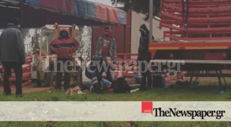 ΤΩΡΑ: Εργατικό ατύχημα στον Βόλο – Στο Νοσοκομείο ένας 57χρονος [αποκλειστικές εικόνες]