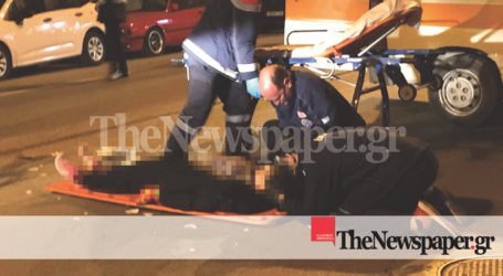 ΤΩΡΑ: Σοβαρό τροχαίο ατύχημα στον Βόλο με ΙΧ και μηχανάκι – Δείτε σκληρές εικόνες