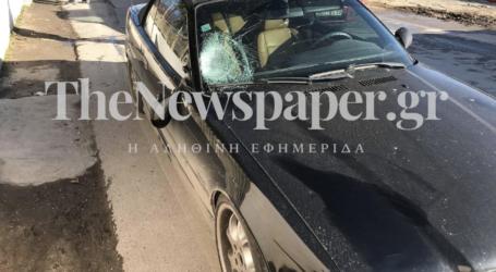 ΤΩΡΑ: Σοβαρό τροχαίο ατύχημα στον Βόλο – ΙΧ εκσφενδόνισε γυναίκα [αποκλειστικές εικόνες]