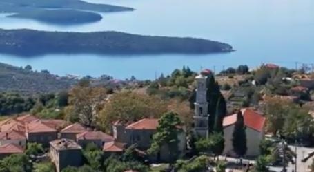 Δείτε ένα υπέροχο βίντεο από τον πανέμορφο Λαύκο Πηλίου… από ψηλά!