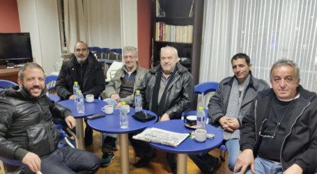Ο Αλέξανδρος Μεϊκόπουλος συναντήθηκε με τους εργαζόμενους του ΟΤΕ Μαγνησίας