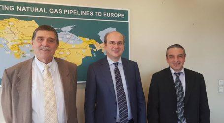 Επίσκεψη στον Υπουργό Περιβάλλοντος και ΕνέργειαςΚ. Χατζηδάκη από το Ινστιτούτο Ανάπτυξης Πηλίου