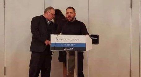 Ο Αλέξανδρος Μεϊκόπουλος σε εκδηλώσεις στον Βόλο