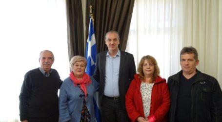 Συνάντηση του Συλλόγου Καρυωτών Λάρισας με τον Δήμαρχο Ελασσόνας