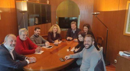 Βόλος: Συνάντηση Μεϊκόπουλου και Νεολαίας ΣΥΡΙΖΑ με τον Πρύτανη του Πανεπιστημίου Θεσσαλίας