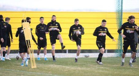 Χωρίς τέσσερις η προπόνηση της ΑΕΚ – Ποδόσφαιρο – Super League 1 – A.E.K.
