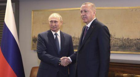 Πούτιν και Ερντογάν εγκαινίασαν τον αγωγό φυσικού αερίου Turkish Stream