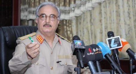 Κατάπαυση του πυρός ανακοίνωσε ο Χαφτάρ