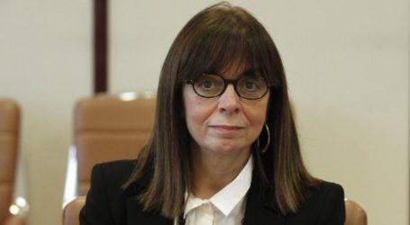 Υποψήφια Πρόεδρος της Δημοκρατίας η Αικατερίνη Σακελλαροπούλου