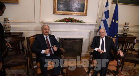 Στο Υπουργείο Εξωτερικών ο Χαλίφα Χαφτάρ