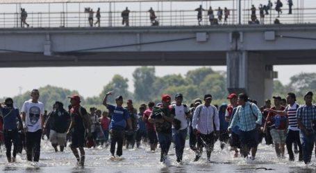 Μετανάστες από τη Γουατεμάλα προσπάθησαν να περάσουν τα σύνορα στον ποταμό Σουτσιάτε