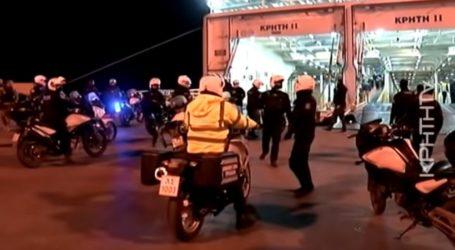 Επεισόδια ΜΑΤ με οπαδούς του Ολυμπιακού στο λιμάνι του Ηρακλείου και μέσα στο πλοίο (video) – Ποδόσφαιρο – Super League 1 – ΟΦΗ – Ολυμπιακός