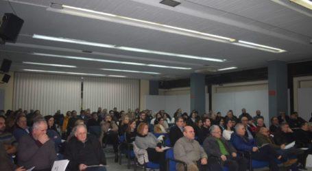 Ενδιαφέρον παρουσίασε το σεμινάριο της Ένωσης Φοροτεχνικών Λάρισας για τα εργασιακά