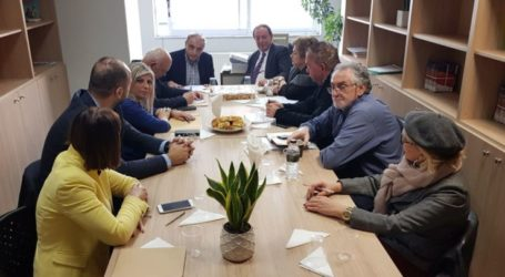Συνάντηση των μελών της Συντονιστικής Επιτροπής «Πόλη που Μαθαίνει» και κοπή της πρωτοχρονιάτικης πίτας