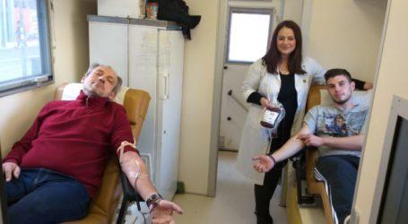 Εθελοντική αιμοδοσία πραγματοποίησαν οι Ενεργοί Πολίτες Λάρισας