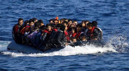 Συνολικά 123 άτομα έφτασαν στις ακτές της Λέσβου με τρεις βάρκες