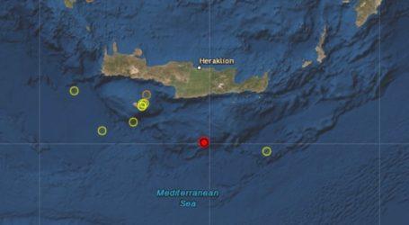 Σεισμός 4,3 Ρίχτερ στην Κρήτη