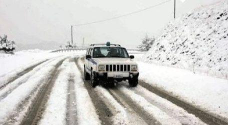 Τροχαία: Ποιοι δρόμοι είναι κλειστοί λόγω κακοκαιρίας