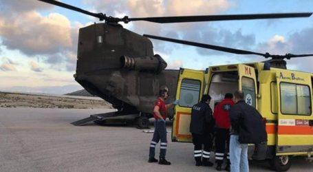 Συνδρομή της Πολεμικής Αεροπορίας για τη μεταφορά ασθενών από νησιά του Αιγαίου