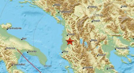 Σεισμός 2,6 Ρίχτερ στην Αλβανία