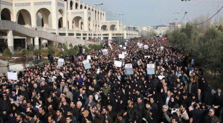 Χιλιάδες διαδηλωτές στο κέντρο της Τεχεράνης κατά των ΗΠΑ