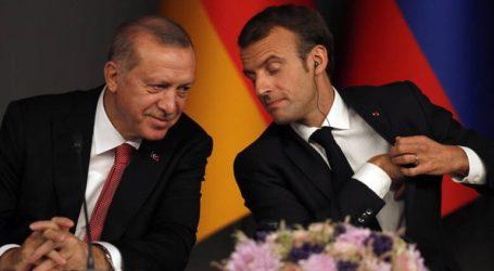 Συστάσεις Μακρόν σε Ερντογάν για Λιβύη και Κύπρο
