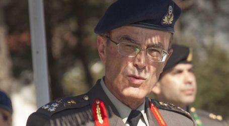 Ο αρχηγός ΓΕΣ, Γ. Καμπάς, στο 424 Γενικό Στρατιωτικό Νοσοκομείο Εκπαιδεύσεως στη Θεσσαλονίκη